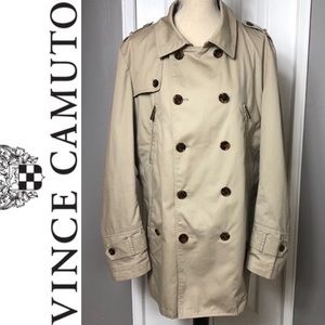 Vince Camuto Trench Coat Sz L